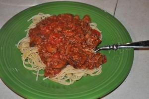 Hubby's Spaghetti Sauce